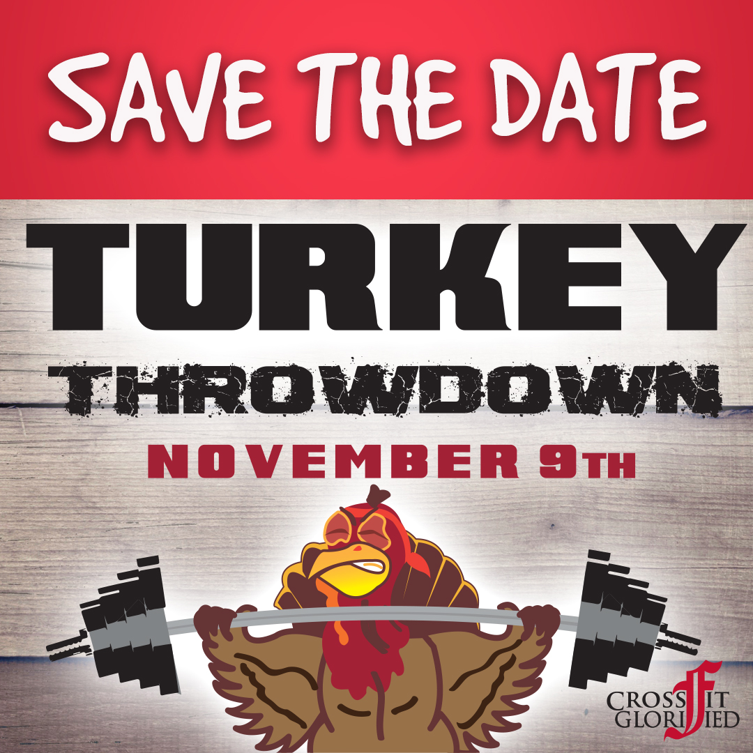 Turkey Throwdown Save the Date